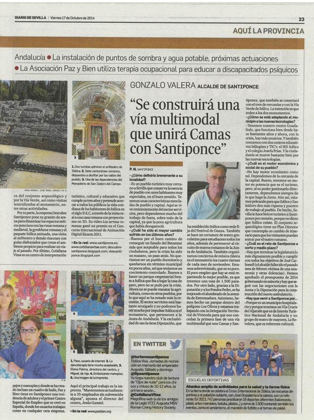 Diario de Sevilla pagina 2