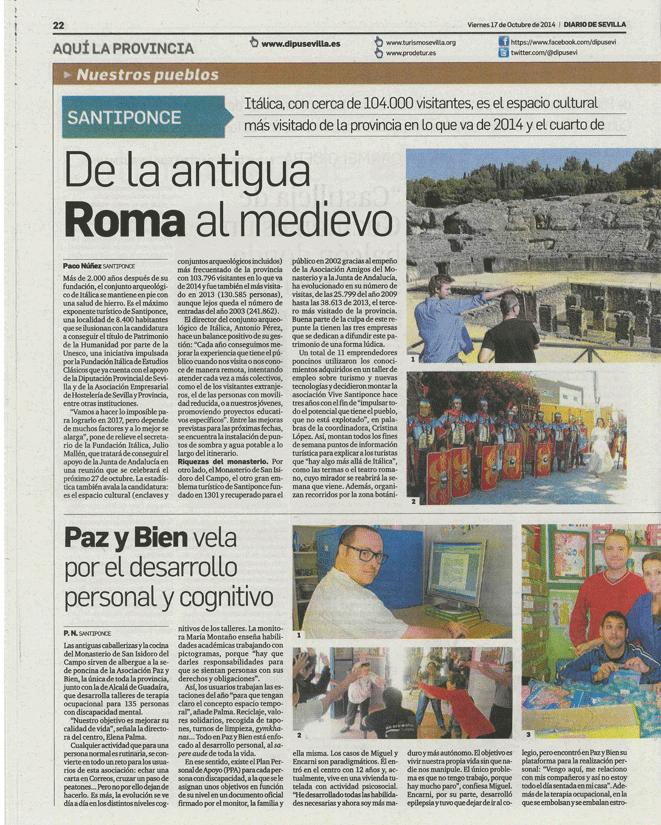 Diario de Sevilla pagina 1