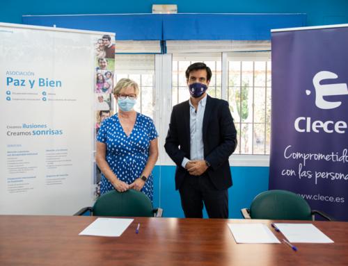 Paz y Bien y Clece firman un convenio para la inserción laboral