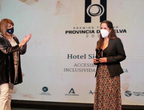 """El Hotel Sierra Luz de Cortegana, premio """"Accesibilidad e inclusividad turística"""" de la provincia de Huelva"""