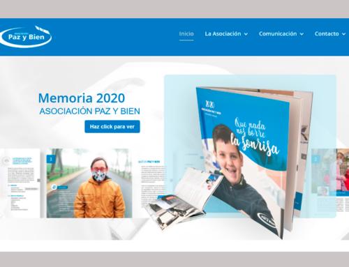 Renovación de la página web de Paz y Bien